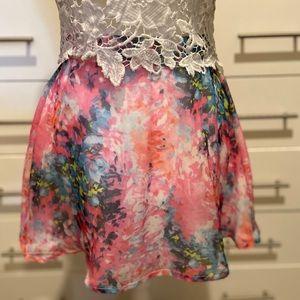 LF Millau Floral Skirt